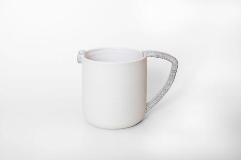 Jarra porcelana blanca img1
