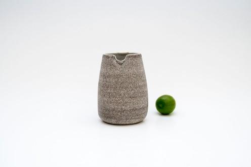Jarra porcelana con arena volcánica img1